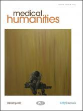 Medical Humanities: 38 (1)