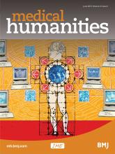 Medical Humanities: 41 (1)