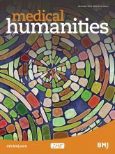 Medical Humanities: 41 (2)