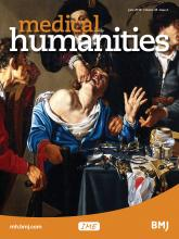 Medical Humanities: 44 (2)