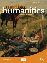 Medical Humanities: 45 (1)