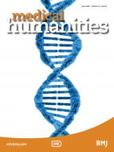 Medical Humanities: 47 (2)
